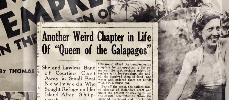 galapagos baroness on the news
