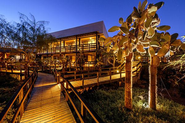 galapagos finch bay hotel view