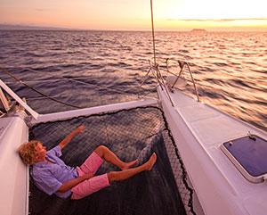 resting aboard