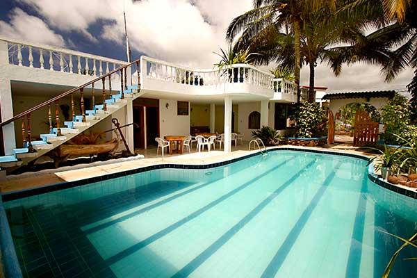 Fernandina Hotel - pool area