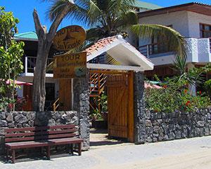 San Vicente Hotel Entrance - Galapagos